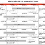 OSOB Calendar